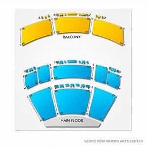Venice Performing Arts Center Seating Chart
