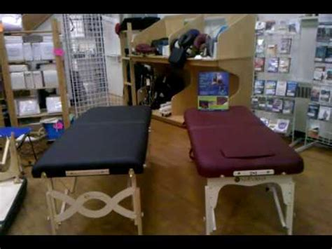 nirvana 2n1 massage table package anatomy of a massage table youtube