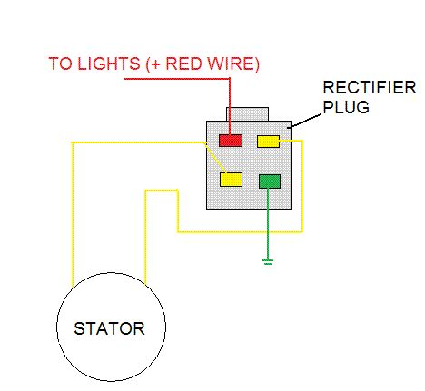 lighting stator 1 vs 2 yellow wires motorcycle engineering tech fabrication thumpertalk