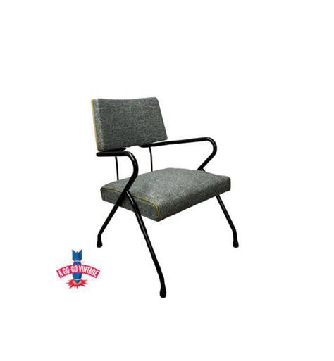 Vintage Mid Century Chair Viko Baumritter Vinyl Chair