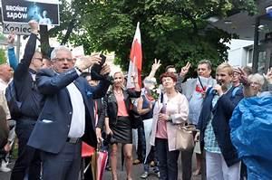 Róża Thun protestowała w Chrzanowie razem z mieszkańcami ...