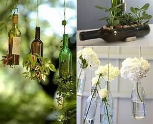 Diy Garten Ideen : inspirierende bastel und upcycling ideen mit weinflaschen freshouse ~ Indierocktalk.com Haus und Dekorationen
