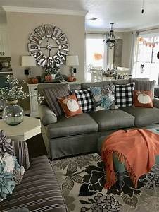 21, Warm, And, Cozy, Farmhouse, Style, Living, Room, Decor, Ideas