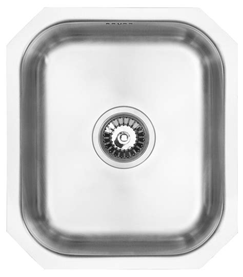 compact kitchen sinks stainless steel wex calypso sink compact single bowl solid wood 8294