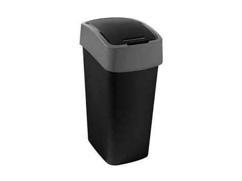 conforama poubelle cuisine poubelle cuisine 50 l flip bin coloris noir chez conforama