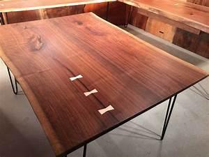 Wood, Slab, Dining, Tables