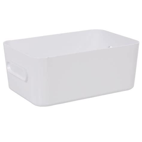 bo 238 te de rangement salle de bain blanche taille m