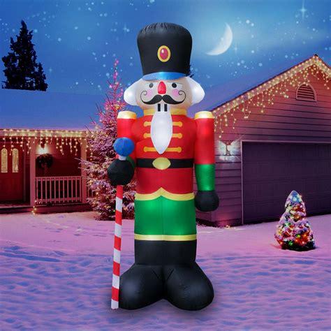 nutcracker inflatable christmas decoration nutcracker soldier decorations outdoor inflatables