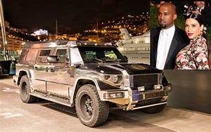 Kim And Kanye Buy TWO Armored SUVs   Celebrity Cars Blog