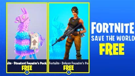 fortnite save  world   ps xbox