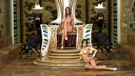 Secrets Of The Pharaoh 00 By Dizzydills Hentai Foundry
