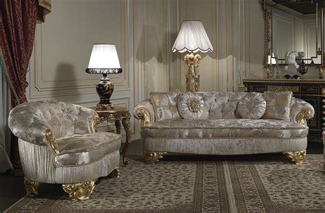 upholstered luxury sofas  classic living room paris