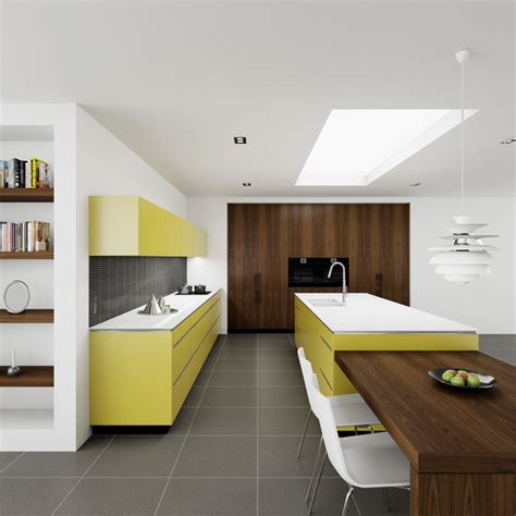 yellow kitchen modern kitchen sydney