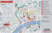 Frankfurt Tourist Map - Frankfurt Germany • mappery