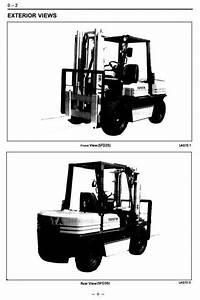 Toyota Lpg Forklift Truck  5fg33  5fg35  5fge35  5fg40