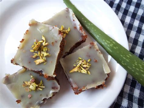 aloe vera sweet kuvar pak recipe by archana s kitchen