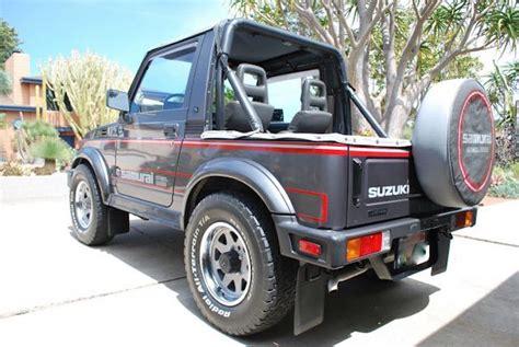 jeep suzuki samurai for sale this 87 suzuki samurai is the 4x4 collector s jeep
