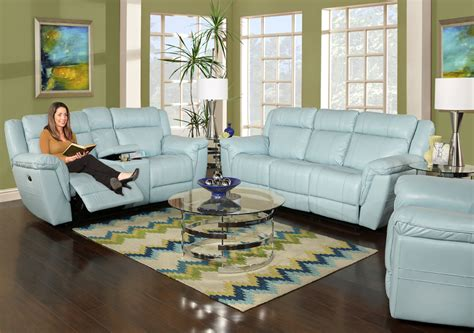 Sofa Mit Licht by Furnitures Awesome Blue Leather Sofa Pertaining To