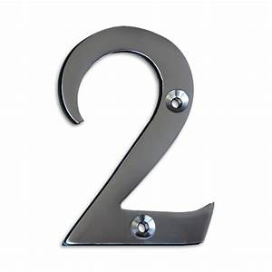 satin chrome 3 inch house numbers letters rch supply co With 3 inch house numbers and letters
