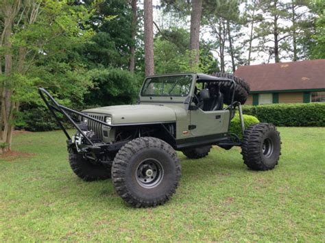 4 door jeep rock crawler 1991 jeep wrangler rock crawler for sale photos