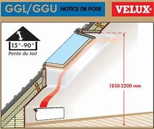 Dimension Des Velux : pose velux comment poser un velux guide d 39 installation ~ Premium-room.com Idées de Décoration