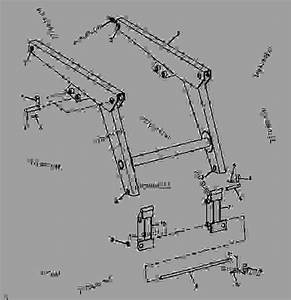 Boom And Bucket Attaching Brackets  Serial No  006700