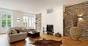 Steinwand Wohnzimmer Ideen : wohnideen blog steinwand zu sch n konzept wohnzimmer steinwand grau ~ Sanjose-hotels-ca.com Haus und Dekorationen