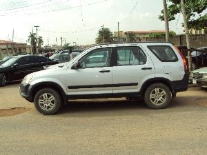 honda jeep 2005 sharp 2005 honda crv jeep give away price n1 450m