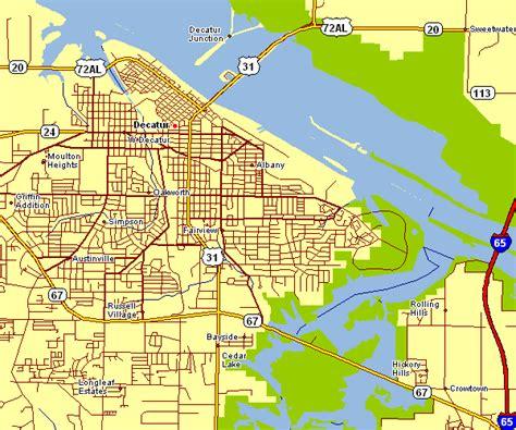Decatur Alabama Map Shoals