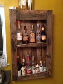 diy pallet wine and liquor shelf my primitive home