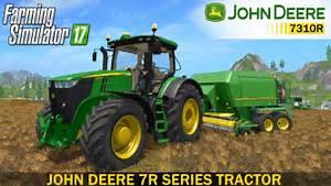 John Deere 7r : farming simulator 17 john deere 7r series tractor youtube ~ Medecine-chirurgie-esthetiques.com Avis de Voitures