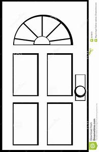 Door Clipart Black And White - ClipartXtras