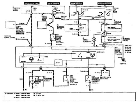 Delco Remy 1101355 Wiring Diagram by Mercedes Fuse Box Diagrams 1990 Auto Electrical Wiring