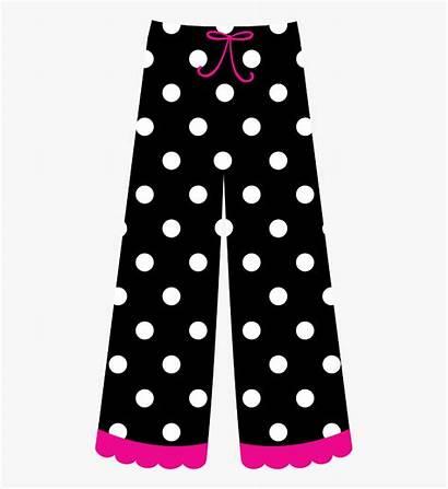Pants Clipart Polka Dot Pajamas Pajama Paper