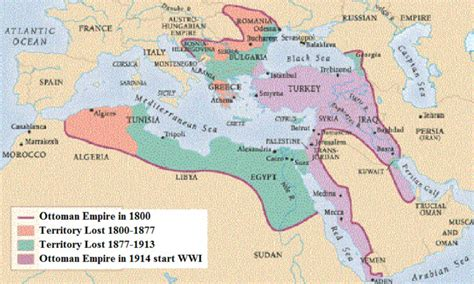When Did The Ottoman Empire Begin - who were the colonizers of mena pre world war i beyond