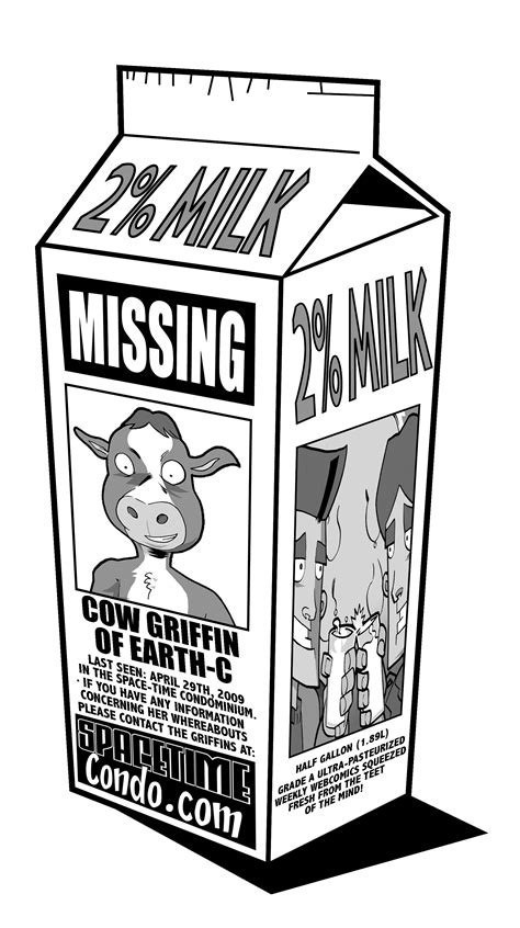missing milk template missing person clipart 6