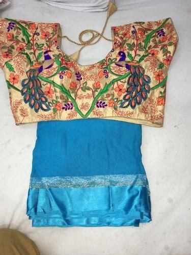 peacock embroidery blouse designs fashion beauty mehndi