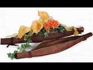 Ausgefallene Tische Selber Machen : hochzeitsgestecke selbstgemacht f r auto kirche und tische blumendeko selber basteln youtube ~ Orissabook.com Haus und Dekorationen