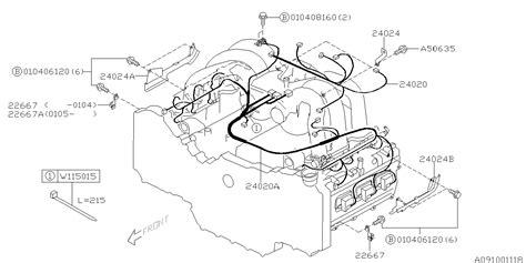 Subaru Engine Wireing Diagram by 24020ac17a Genuine Subaru Harness Engine