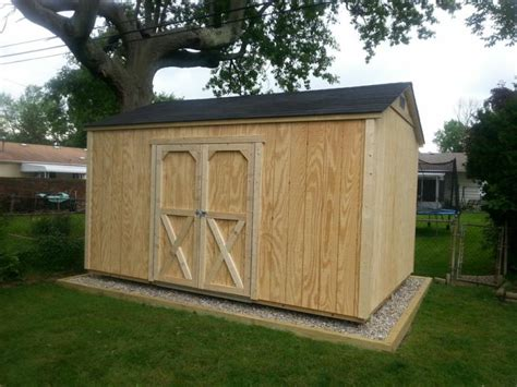 gable style sheds