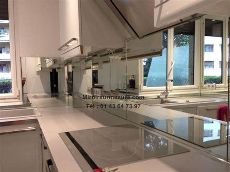 cuisine et gris credence miroir argent2 professionnel du miroir sur