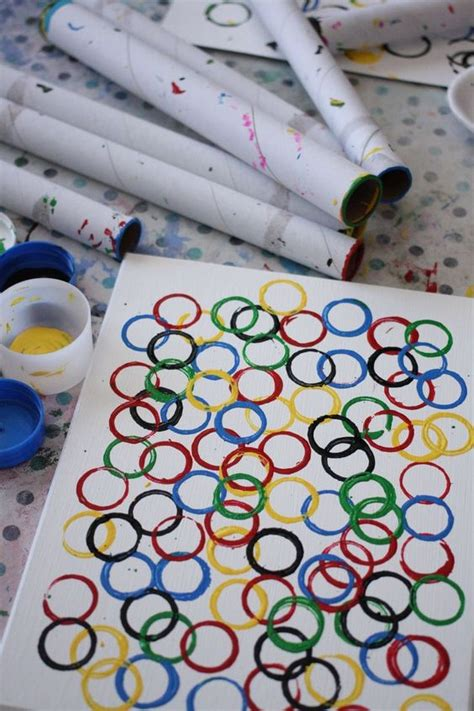 olympic ring for to make for shops and kid 714 | b95c63647e4530d5e64665bbbfe5f210