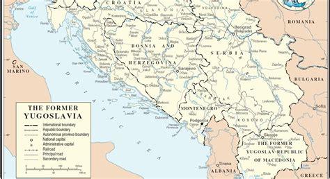 Karte Jugoslawien | Karte