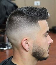 Short Hair Men Fade Haircut
