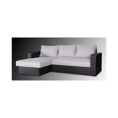meubles et canapes canapé d angle convertible reversible pas cher royal