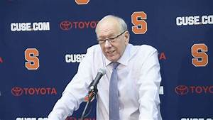 Jim Boeheim postgame news conference after Syracuse ...