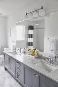 Gray, Bathroom, Cabinets