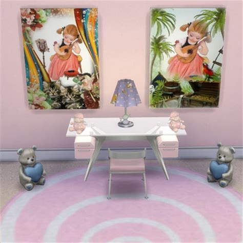 girly kitchen accessories girly paintings at trudie55 187 sims 4 updates 1221