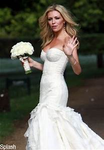 meanwhileabbey clancy wore giles With giles deacon wedding dresses