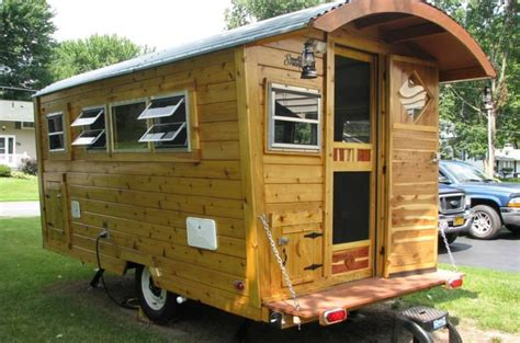Cedar Cabin (Shepherd's Hut) Travel Trailer/micro-house ...